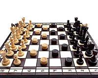 Набор  Шахматы+ Шашки С165 хороший подарок