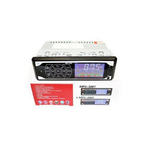 🔥✅ Автомагнитола ISO 1DIN сенсорные кнопки магнитола MP3-3882