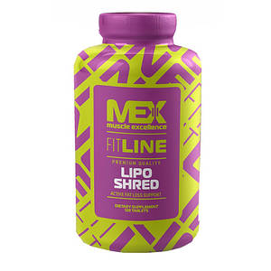 Жиросжигатель MEX Nutrition Lipo Shred 120 tabs