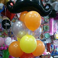 Фонтан из 11 шаров Для мужчины Усы