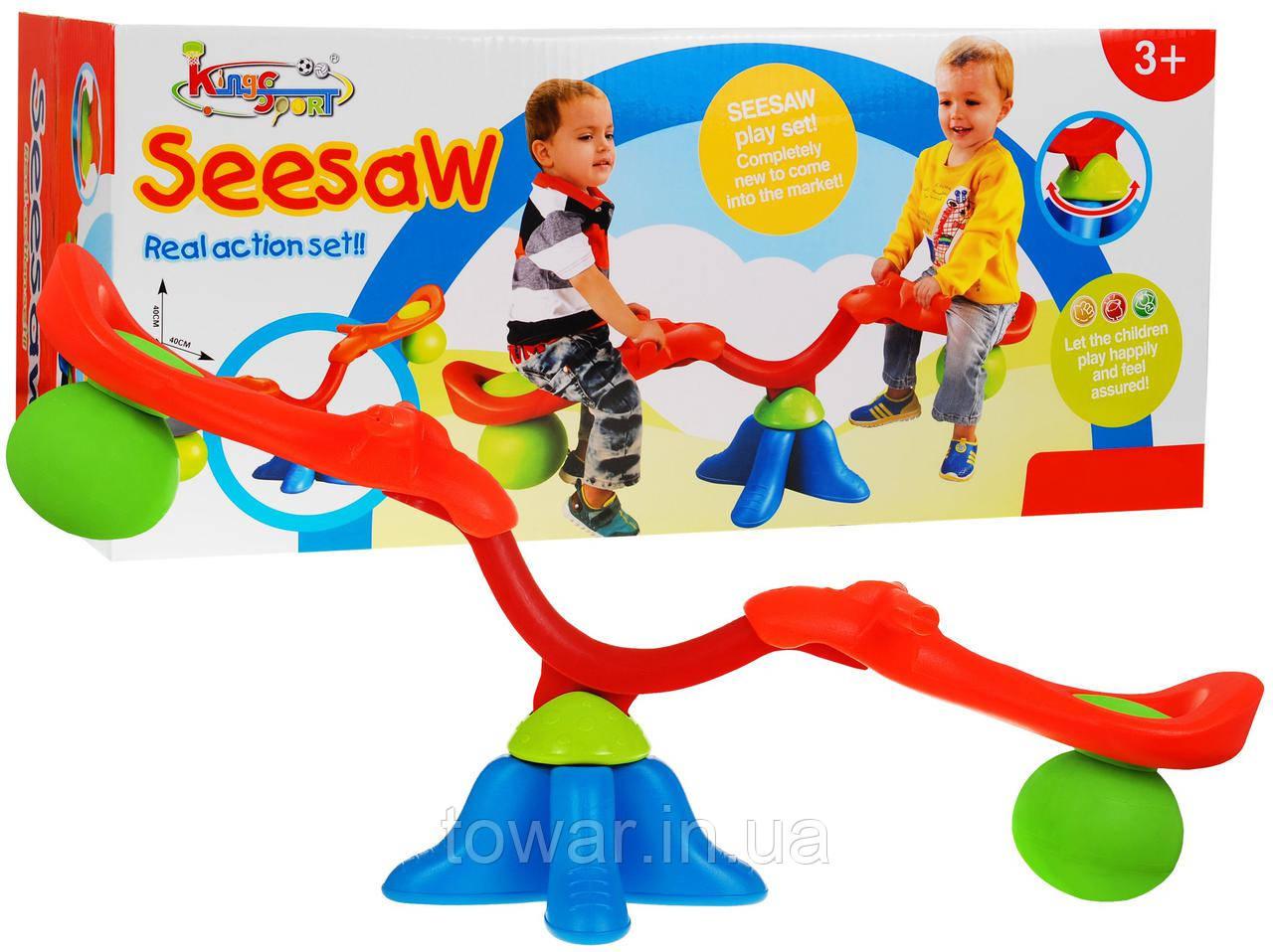Детская качеля для двоих для сада и дома Seesaw Польша