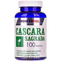 Капсулы для нормализации пищеварения POWERFUL (Поверфул) Каскара Саграда банка 100 шт
