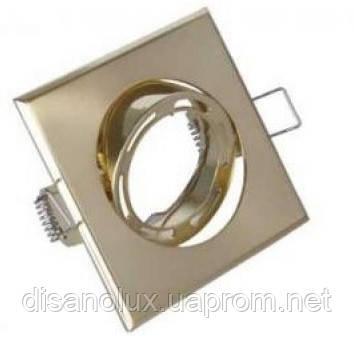 Светильник  точечный 603  MR16  Мат. золото