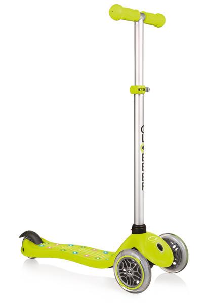 Самокат Globber 425-106 PRIMO STARLIGHT - lime green