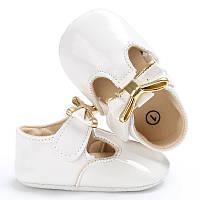 Лаковые туфельки-пинетки для  девочки 12.5 см.