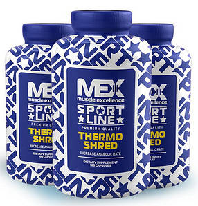 Жиросжигатель MEX Nutrition Thermo Shred 180 caps