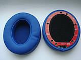 Подушки для наушников Monster Beats Wireless 2.0 белые, черные и синие, фото 5