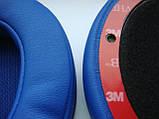 Подушки для наушников Monster Beats Wireless 2.0 белые, черные и синие, фото 6