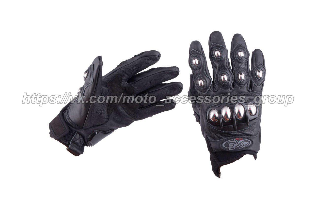 Мото перчатки AXE RACING (кожа)