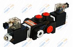 Электромагнитный гидрораспределитель Z50 12/24 В (односекционный)