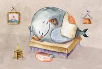 """Открытка """"Китовый сон"""", фото 1"""