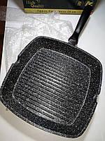 Сковорода гриль 24 см EDENBERG EB-3311 (гранитное покрытие)