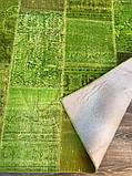 Ковер patchwork винтажный зеленый купить в Киеве, фото 2