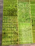 Ковер patchwork винтажный зеленый купить в Киеве, фото 4