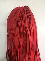 Шнур плоский 8 мм (100 м) красный