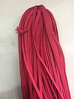 Шнур плоский 8 мм (100 м) розовый