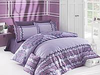 Комплект постельного белья из сатина (евро размер)