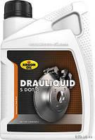 Тормозная жидкость KROON OIL DRAULIQUID-S DOT 4 BRAKEFLUID 1л