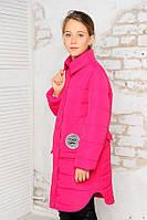 Куртка-пальто демисезонная для девочки