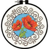 72-73825 Набор для вышивания крестом DIMENSIONS Маки