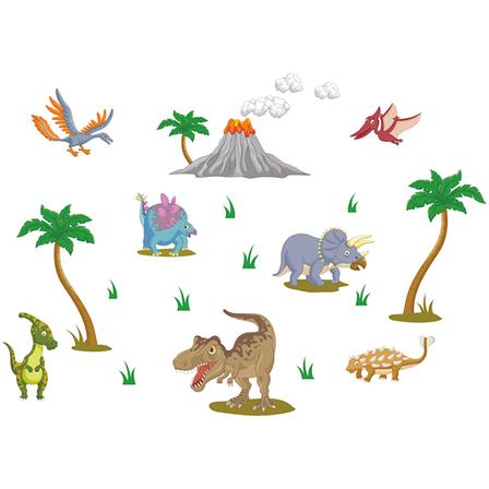 Наклейки на стену Dinosaurs. Акция: бесплатная доставка!, фото 2
