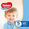 Підгузники дитячі Huggies Ultra Comfort для хлопчиків 5 (12-22 кг) Jumbo Pack 42 шт