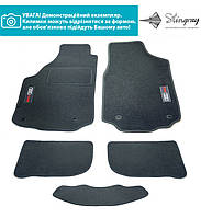 Комплект з 5-х ковриків Stingray CIAK GREY в салон SUBARU / FORESTER II / 2002-2008, фото 1