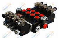 Электромагнитный гидрораспределитель Z50 12/24 В (четырехсекционный)