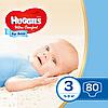 Підгузники дитячі Huggies Ultra Comfort для хлопчиків 3 (5-9 кг) Mega Pack 80 шт