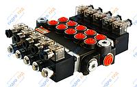 Электромагнитный гидрораспределитель Z50 12/24 В (шестисекционный)