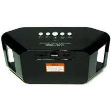 Портативная колонка спикер WS-Y66B на АКБ USB+радио + bluetooth 3