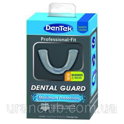 Капа при бруксизме DenTek Maximum Protection Dental Guard (Дентек максимальная стом защита)