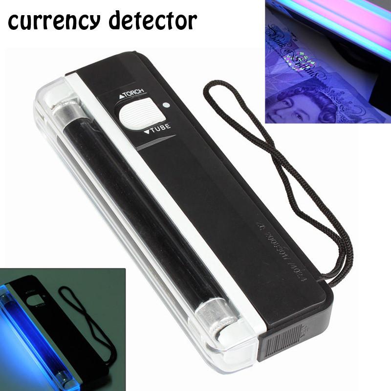 Детектор валют карманный ультрафиолетовый для проверки банкнот