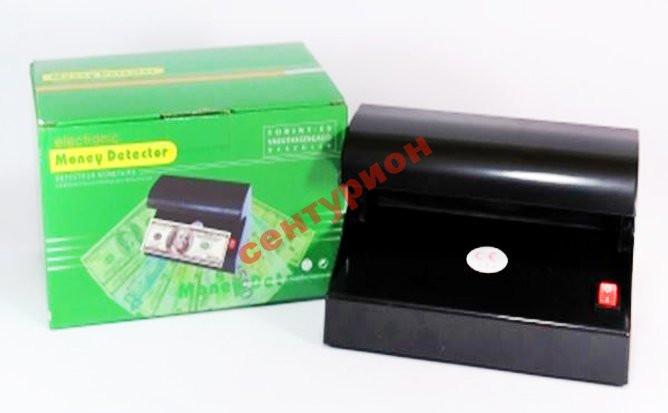 Детектор банкнот настольный ультрафиолетовый от батареек!