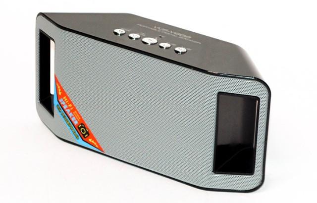 Спикер портативный мобильная колонка WS-Y66B bluetooth USB FM LINE Micro SD Микр. Супер звук! 2