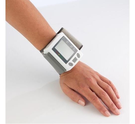 Тонометр автомат на запястье UKC Blood Pressure Monitorна батарейках+футляр