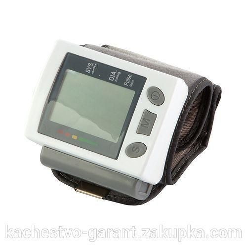 Тонометр автомат на запястье UKC Blood Pressure Monitorна батарейках+футляр 4