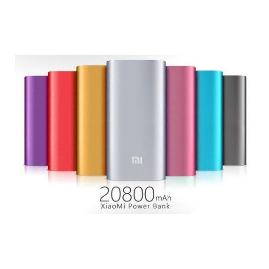 Внешний аккумулятор портативная зарядка Power Bank Повер Банк XiaoMi 20800mAh метал. универсальный АКБ 3