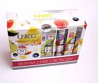 Жидкость жижа масло UKC 10мл для электронных сигарет и кальянов! с разным содержанием никотина разные вкусы!