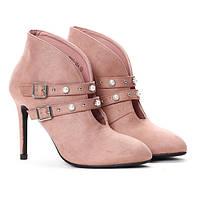 Модные женские ботинки на каблуке, очень удобные в носке