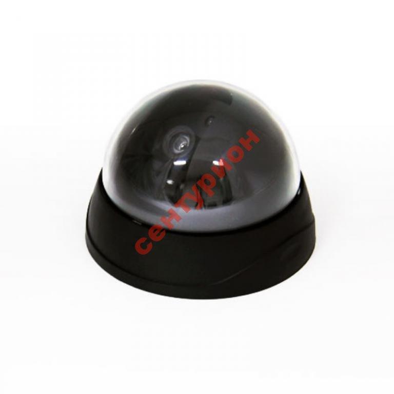 Камера видео наблюдения купольная муляж реалистичная обманка 6688 5