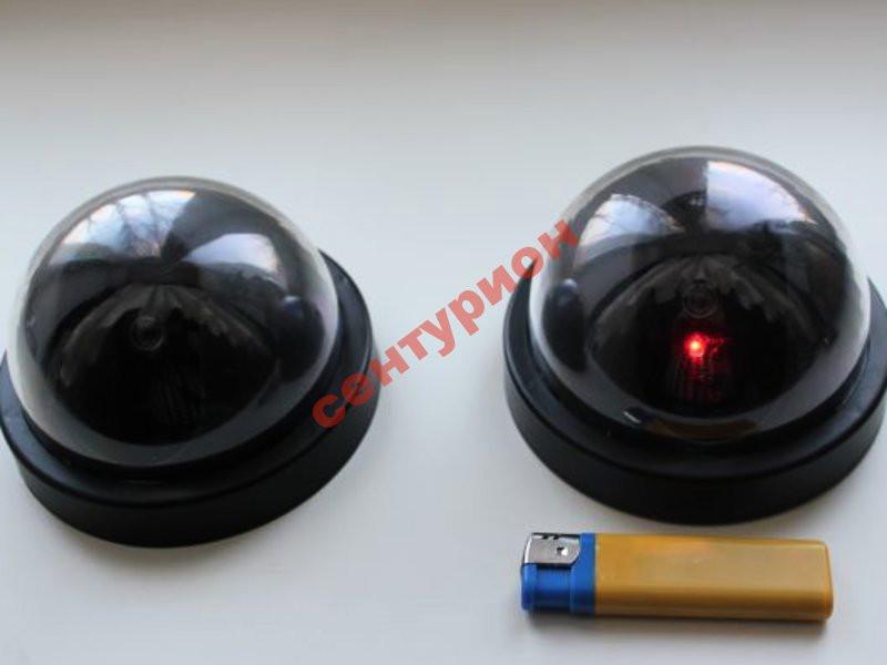 Камера видео наблюдения купольная муляж реалистичная обманка 6688 6
