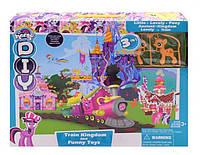 Железная дорога с замком My Little Pony SM2022