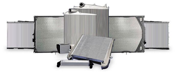 Радиатор вод. охлажд. ВАЗ 2123 НИВА ШЕВРОЛЕ (пр-во ПЕКАР)