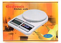 Весы веса ваги для кухни настольные электронные бытовые до 8 кг. + батарейки