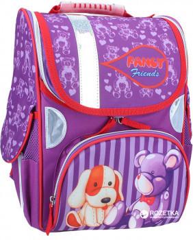 Рюкзак, портфель школьный каркасный (ранец) Rainbow Fauna 7-505 Чехия