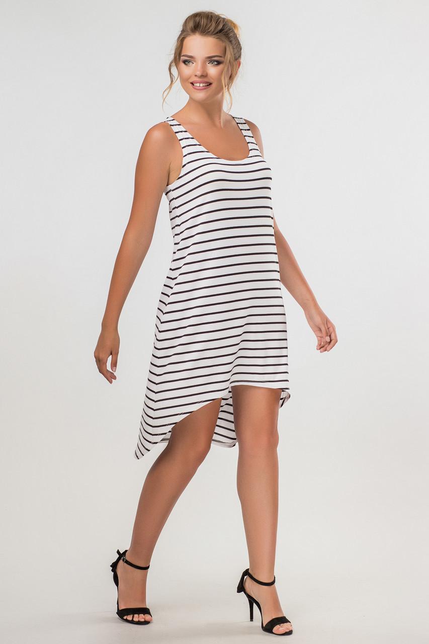 602970f36947 Полосатое платье с ассиметричным низом  продажа, цена в Днепре ...