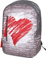 Рюкзак городской, портфель ZiBi Simple Heart