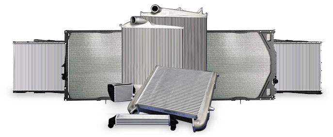 Радиатор отопителя (н.о.) МТЗ 1025,1221,1523 (пр-во Украина)