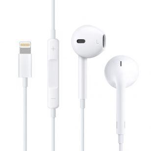 Наушники Original iPhone 7 with lightning White (MMTN2) (Retail box)